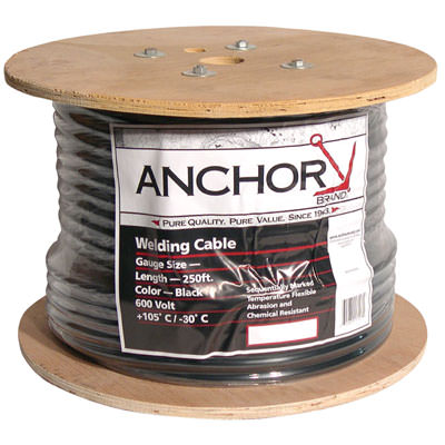Anchor #2 Welding Cable - 250 ft. Reel