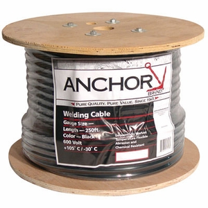 Anchor #4 Welding Cable - 250 ft. Reel