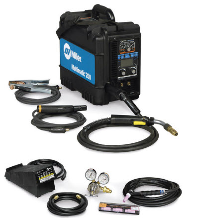 Miller Multimatic 215 >> Miller Multimatic 200 With WP17 TIG Kit 951649