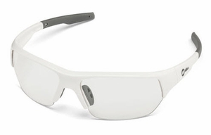 Miller Spatter White Clear Safety Glasses 272198