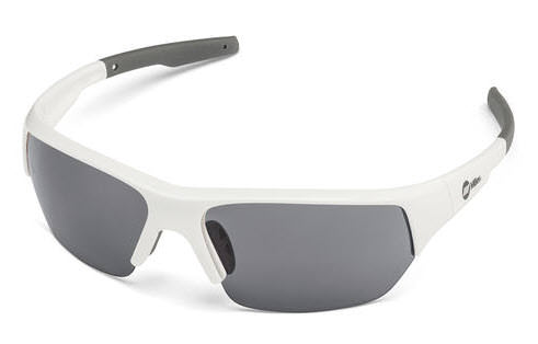 Miller Spatter White Smoke Safety Glasses 272199