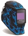 Miller Welding Helmet - Blue Flame Digital Elite Lens 269273