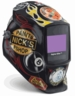 Miller Welding Helmet - Hot Rod Garage Digital Elite Lens 269946