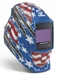 Miller Welding Helmet - Stars & Stripes III Digital Elite Lens 264852