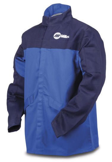 Miller Welding Jacket - Blue INDURA® Cotton 258095