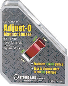 Strong Hand Welding Magnet - Adjust O On/Off MSA45