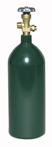TurboTorch Oxygen Cylinder - 40 Cubic Foot 0916-0019
