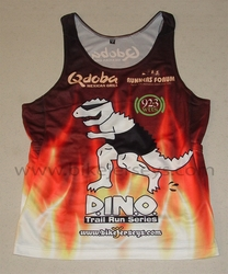 Basic Grade Running Singlet SAMPLE