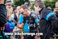 Chris Froome Calm before the storm Tour D' France 2014
