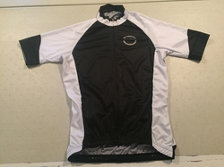 Club Rocchetto White and Black RACE CUT SS Cycling Jersey