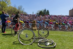 Little 500 2015 Men's Race - Photo on Metal