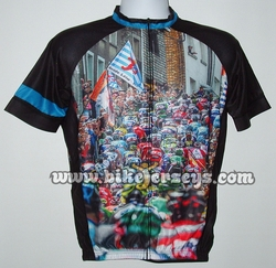 Mass Riders SS Cycling Jersey - Club Cut USA Sizing