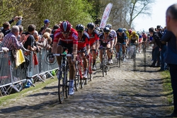 PARIS-ROUBAIX 2015 - Photo on Metal