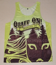 Quaff On Basic Grade Running Singlet SAMPLE