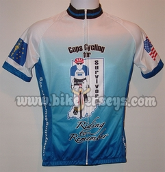 Samples of Custom Bicycle Jerseys