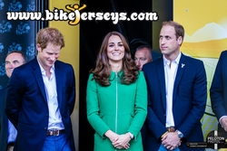 The Royals at the Finish of Stage 1 Tour d' France