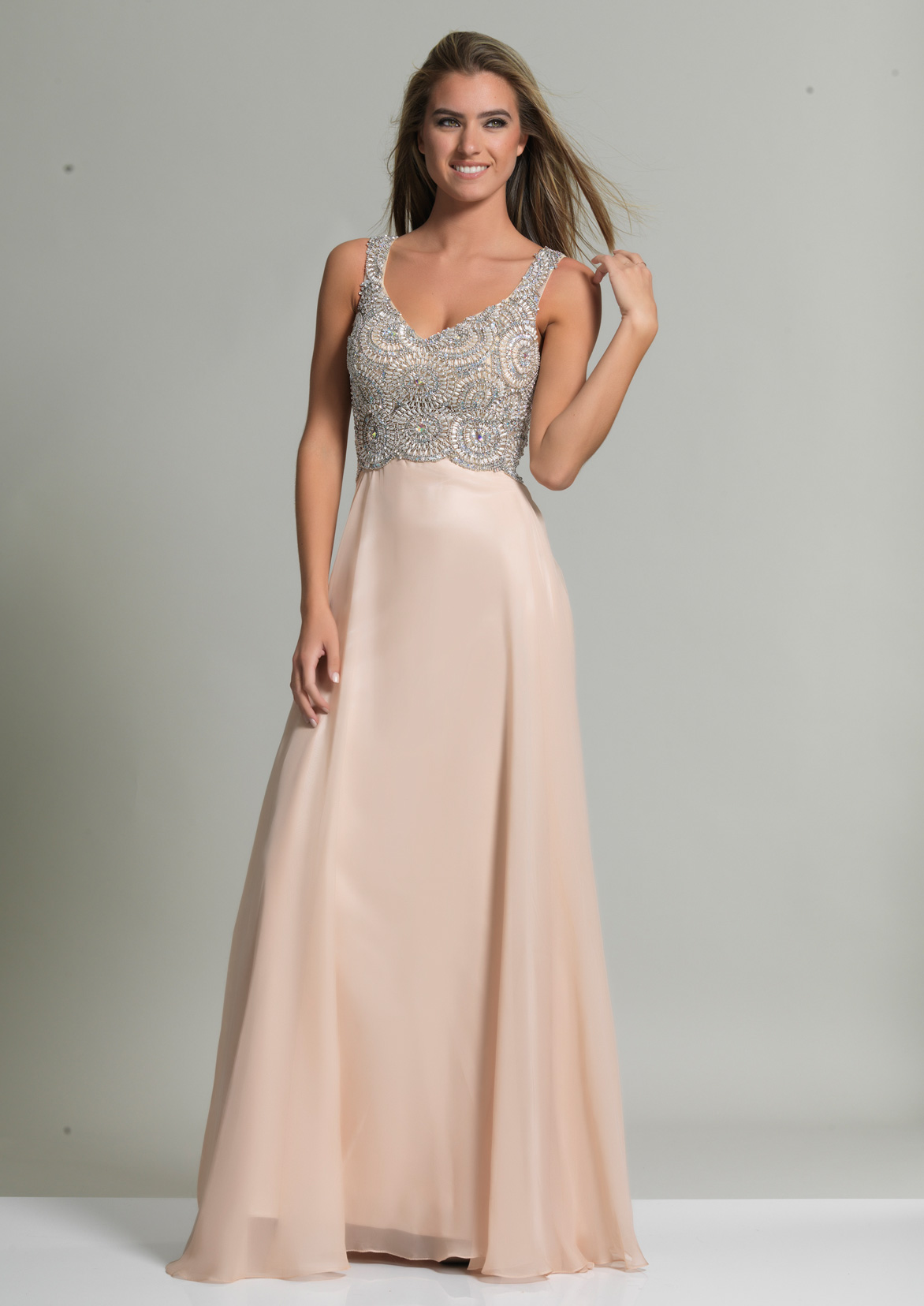 Dave and Johnny Prom Dress 2700
