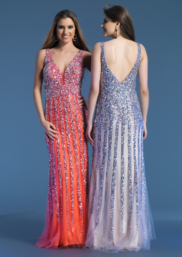 Dave and Johnny Prom Dress 8157W