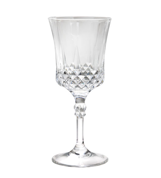 Decorated Wine Glasses & Plastic Glasses That Look Like Glass