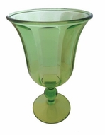 Arylic Wine Glass Green Set of 4