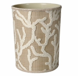 Bathroom Trash Cans Beige Coral