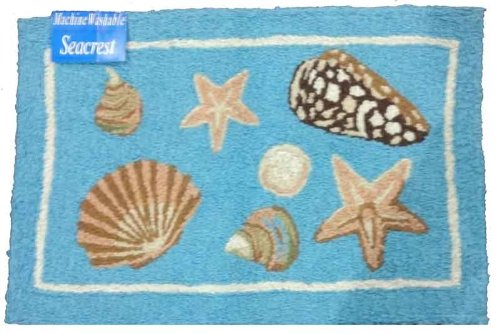 Beach Theme Decor Rugs Compasses Anchors Whales More
