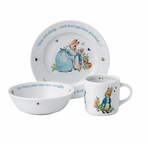 Beatrix Potter 3 Piece Set Blue