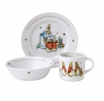 Beatrix Potter 3 Piece Set Pink