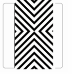Black and White Party Decorations Black Chevron Guest Towels