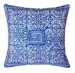 Block Print Decorative Throw Pillows