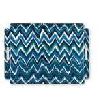 Butlers Tray Bargello Blue