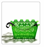 Carrie Bike Basket Green