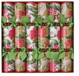 Christmas Crackers Berry Chintz