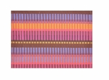 Cloth Placemats Reversible Pink