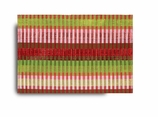 Cloth Placemats Reversible Red and Green