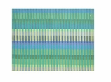 Cloth Placemats Reversible Teal