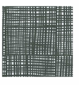 Cocktail Napkins Black and White Plaid