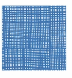 Cocktail Napkins Blue Plaid
