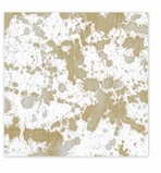 Cocktail Napkins Gold Splatter