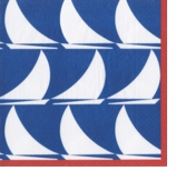 Cocktail Napkins Nautical Boats