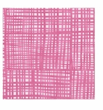 Cocktail Napkins Pink Plaid