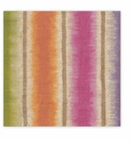 Cocktail Napkins Stripes Jewel