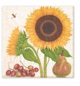 Cocktail Napkins Sunflowers
