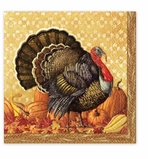 Cocktail Napkins Turkey Harvest