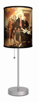 """Decor Lamps """"Declaration of Independence"""""""