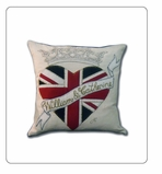 Decorative Accent Pillow Royal Wedding  12 x12