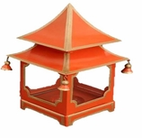 Decorative Lanterns Red Pagoda