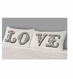 Decorative Pillowcases Love