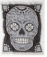 Decorative Throw Sugar Skull