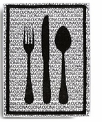 Dry Mat Kitchen Decor Cutlery